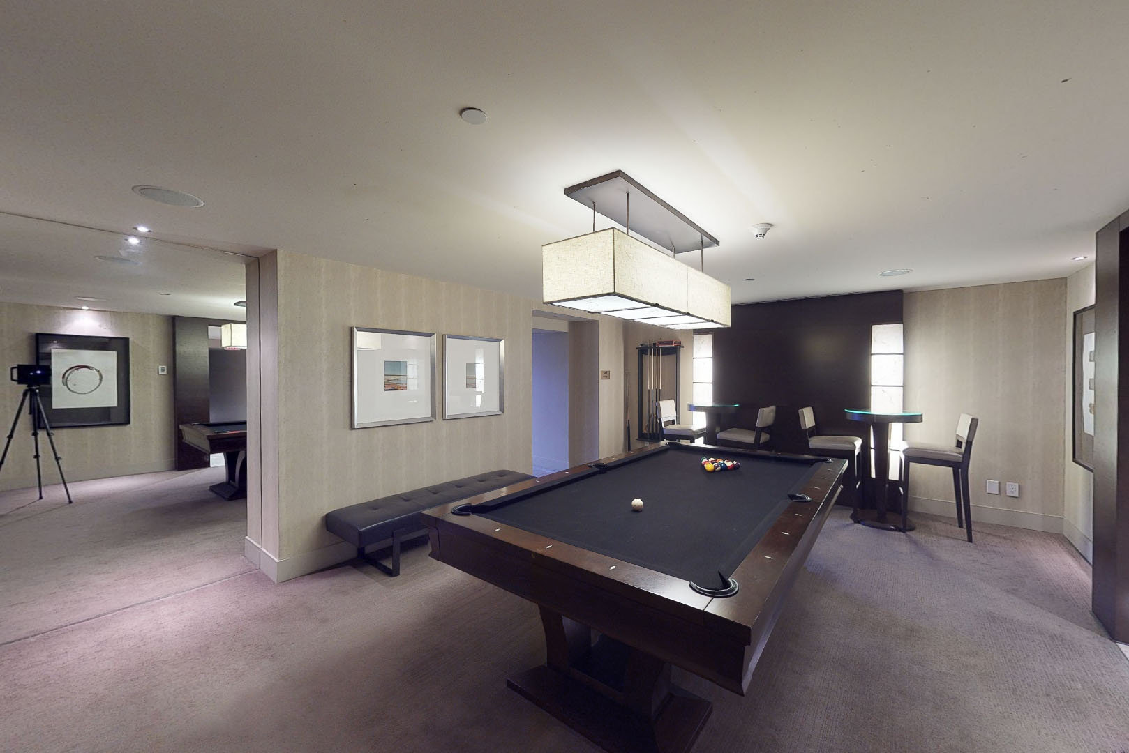 The Private Residences at Hotel Georgia - Billards!