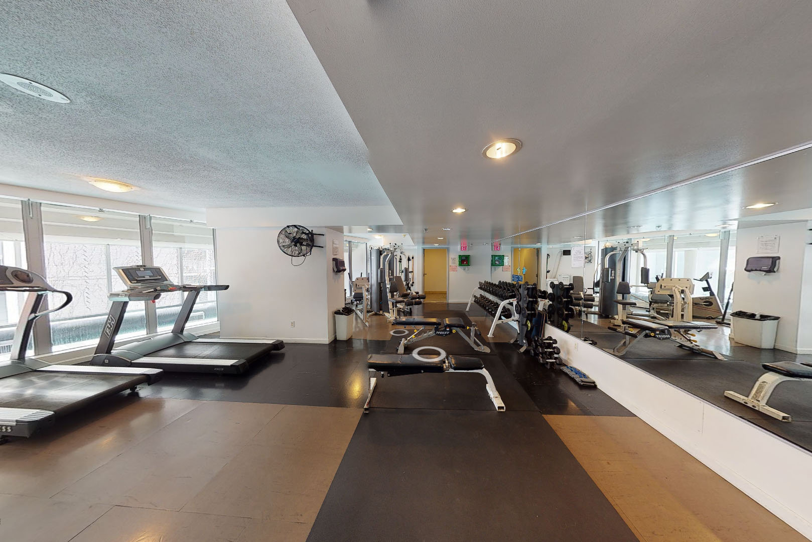 Icon at 638 Beach Crescent - Gym!