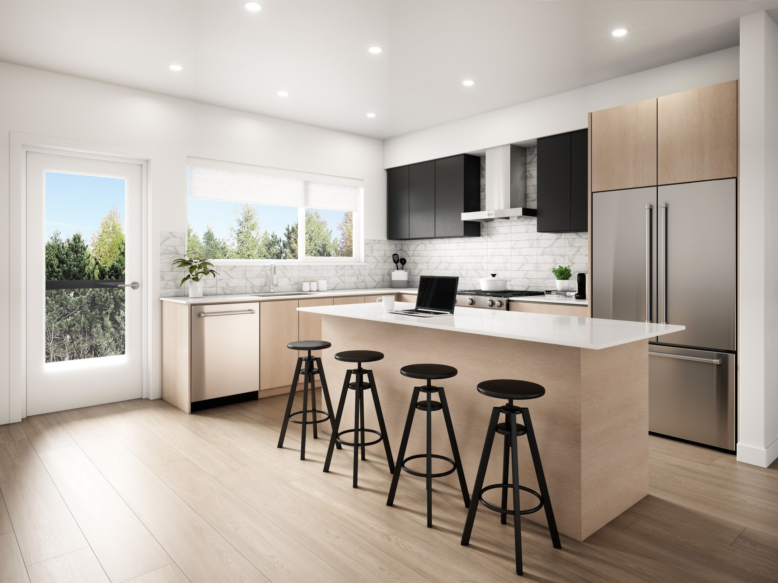 Kitchen - 602 Lile Dr, North Vancouver, BC V7G 0A4, Canada!