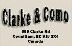 Clarke & Como 559 Clarke V3J 3X4