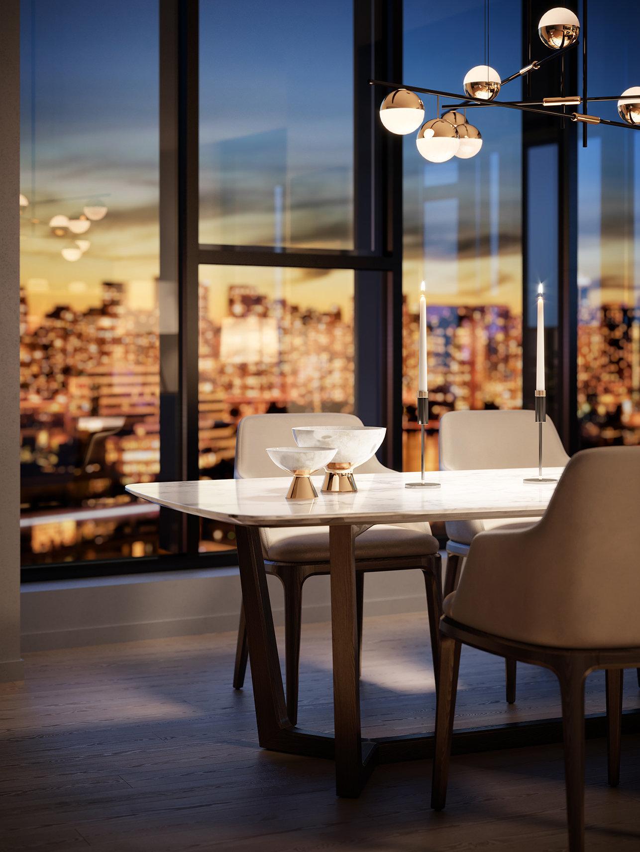 Tesoro - 1551 Quebec St - Dining Table/Views!