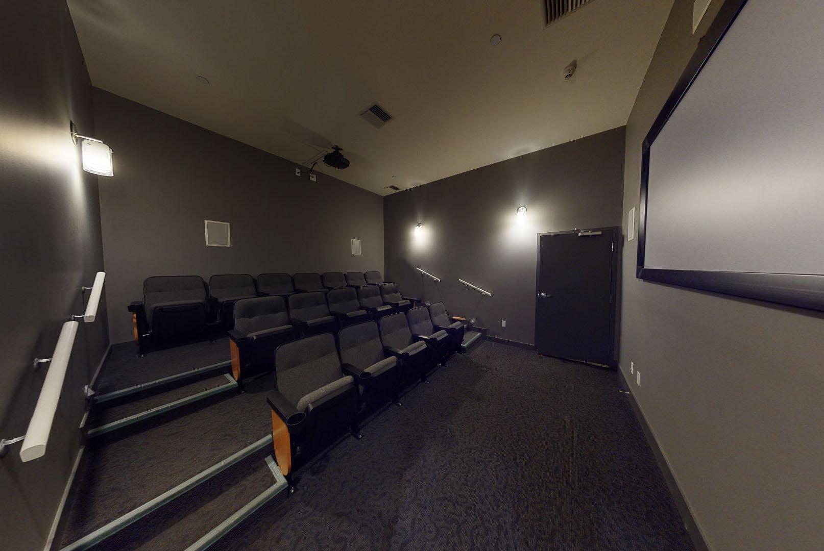 Icon II - 633 Kinghorne Mews - Theater!