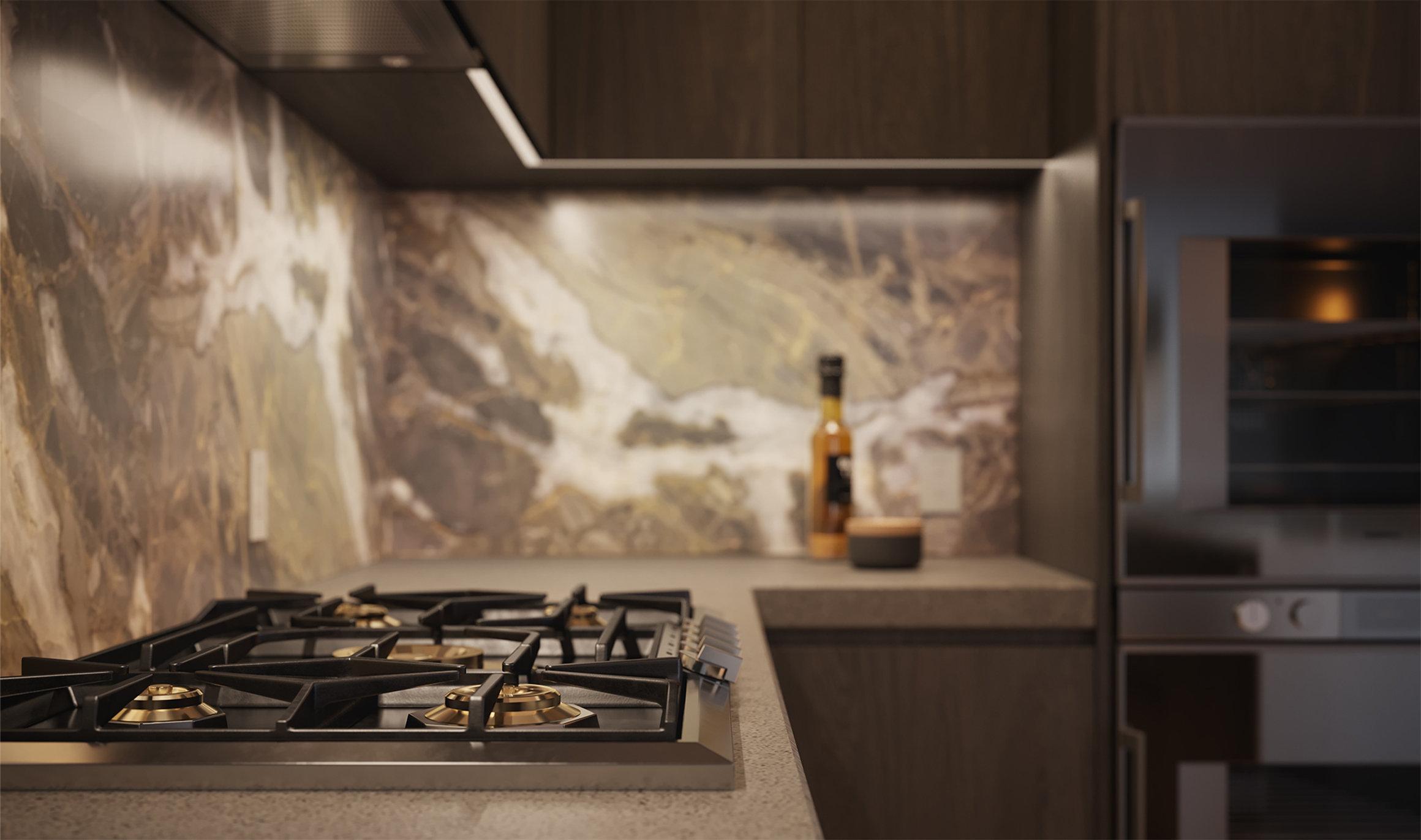 Tesoro - 1551 Quebec St - Stove/Kitchen!