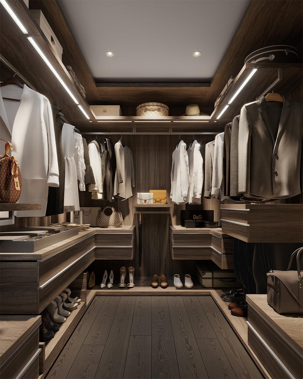 Tesoro - 1551 Quebec St - Closet!