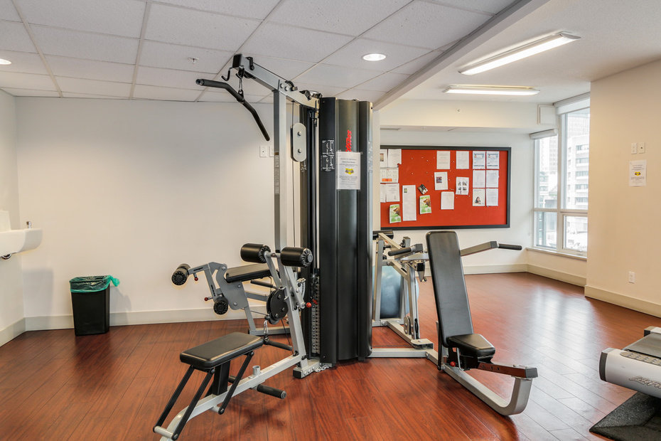 Capitol Residence 833 Seymour Fitness Room!