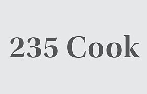 235 Cook 235 Cook 8V 3X4