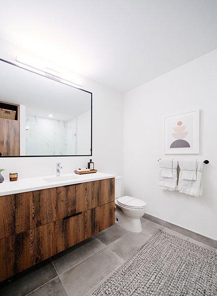 Bathroom - 3229 Saint John St, Port Moody, BC V0V 0V0, Canada!