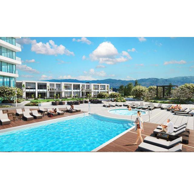 One Water Street - 1187 Sunset Drive Kelowna - pool area!