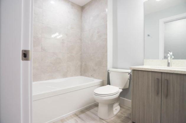 Modern Stockwell - 795 Stockwell Avenue, Kelowna - display bathroom area!