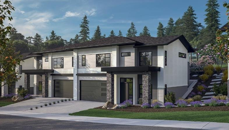 Lost Creek Point Townhomes - Wilden - 1349 Rocky Point Drive, Kelowna - Exterior!