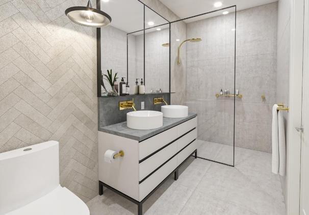 Eden Kelowna - 155 Bryden Road, Kelowna - Display Bathroom!