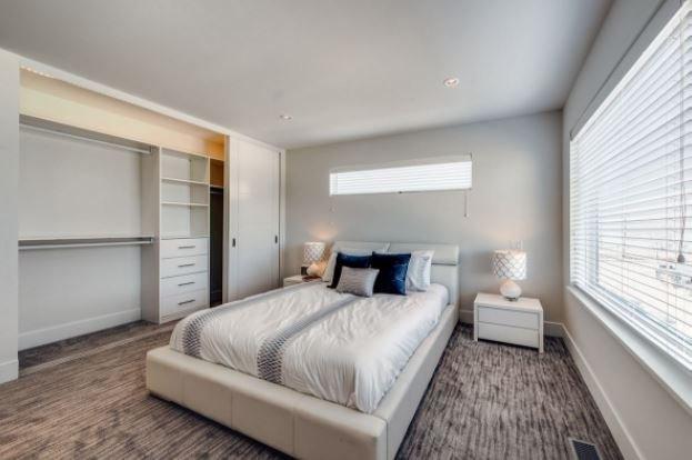 Gyro Beach Townhomes - 3510 Landie Road, Kelowna - Bedroom Display!