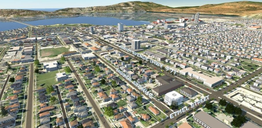Copper Beech Condos - 880 Saucier Avenue, Kelowna - Aerial!