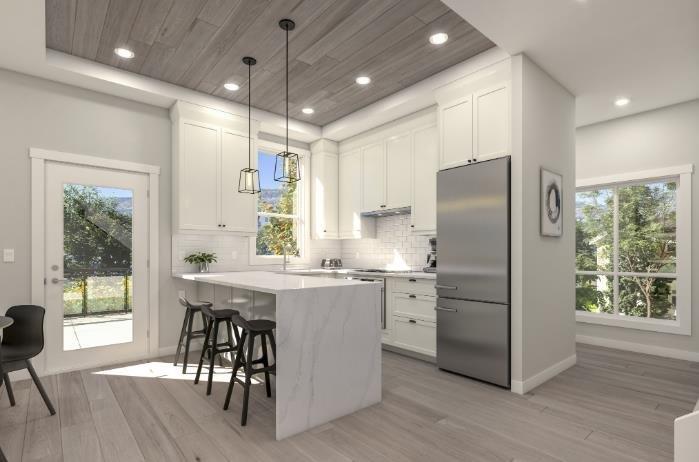 Brixx - 1308 Richter Street, Kelowna - Kitchen - City Contemporary !