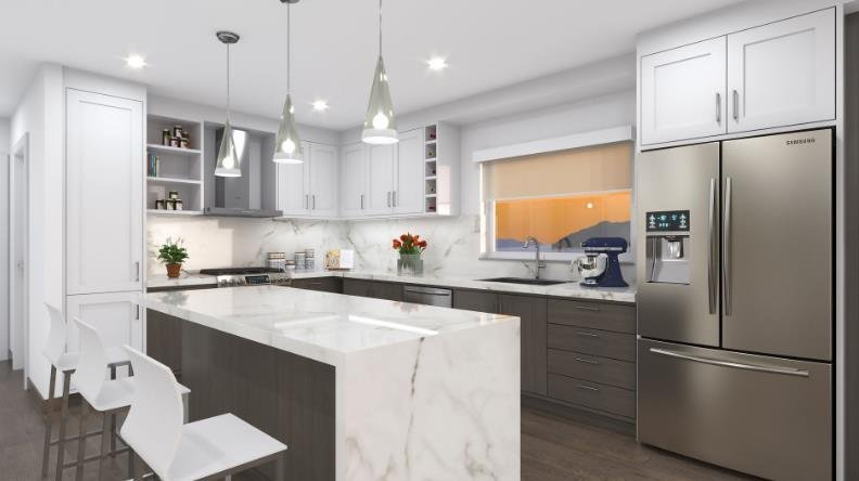 Cote Gibsons - 524 S Fletcher Road, Gibsons - Display Kitchen!