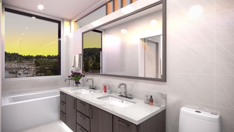 Cote Gibsons - 524 S Fletcher Road, Gibsons - Display Bathroom!