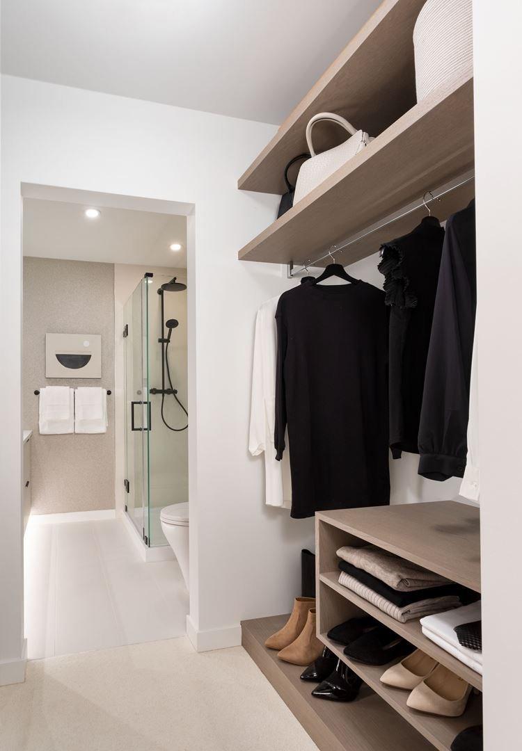 Field + Ford - 5443 Brydon Crescent - Closet/Bathroom!