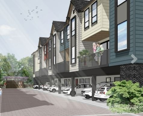 The Post - 4771 54A Street, Delta - Rendering!
