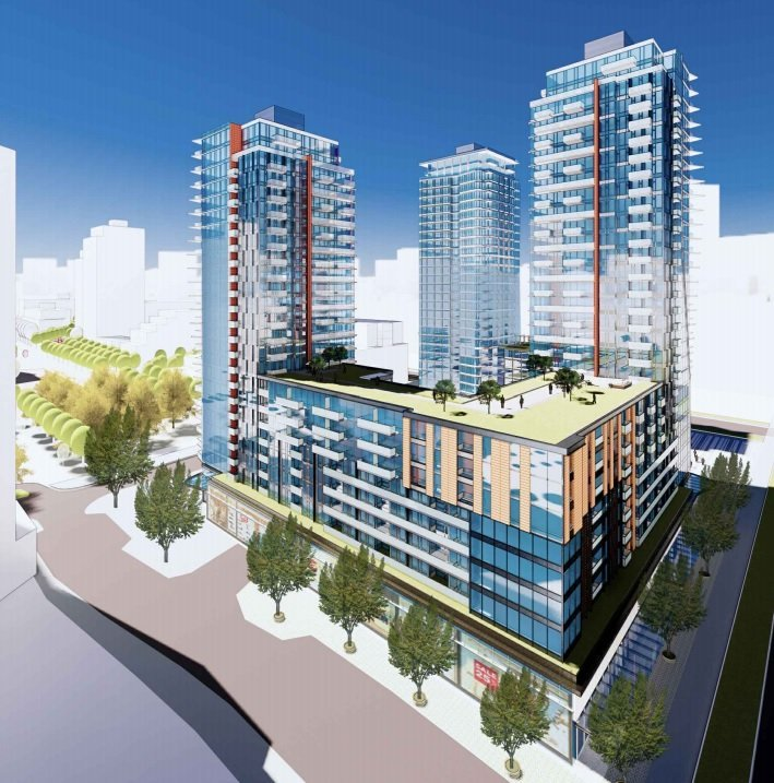 Cambie Gardens - 650 West 57th Ave - Rendering!
