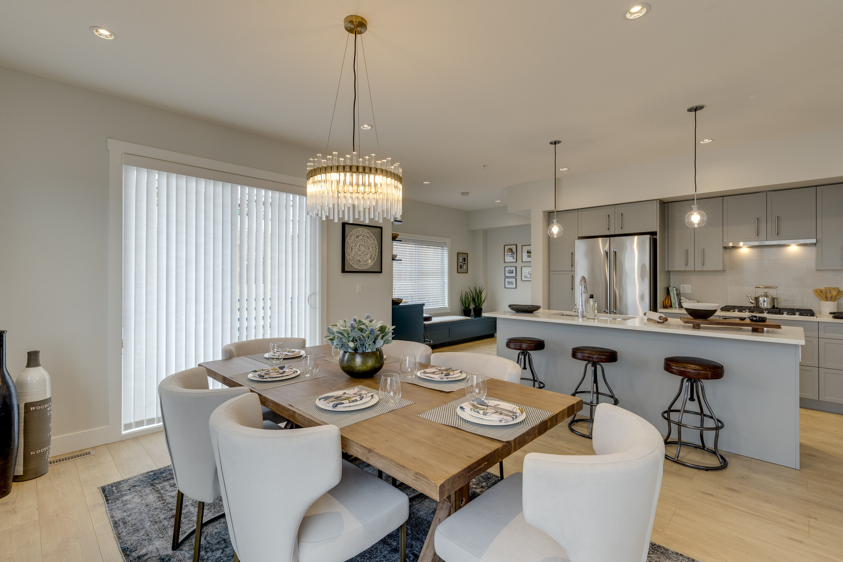 Dining Area - 22127 48a Ave Langley Twp, BC V3A 3Z7 Canada!