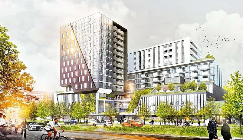 Building Rendering - 6700 No 3 Rd, Richmond, BC V6Y 2C3, Canada!