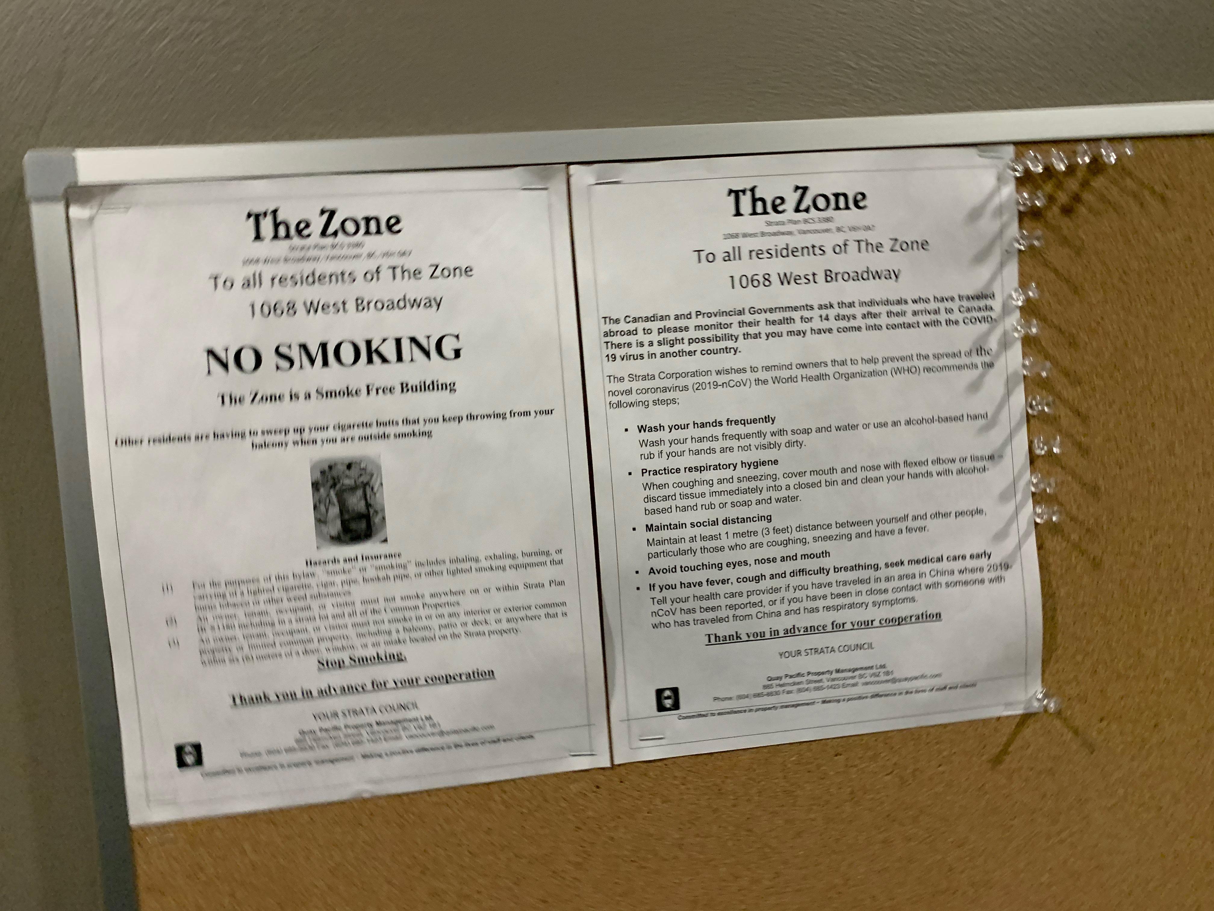 The Zone 1068 Broadway Bulletin Board!