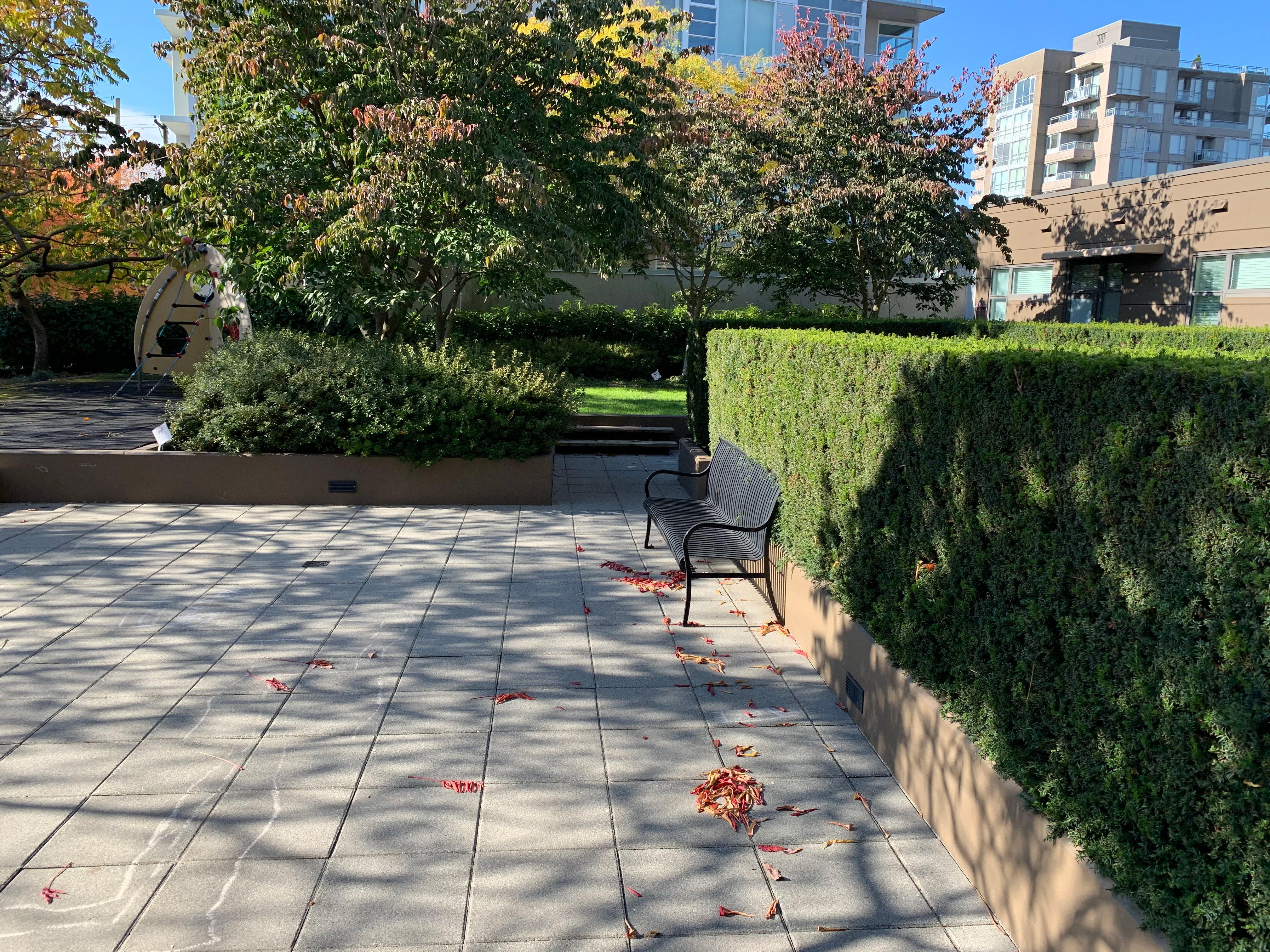 The Zone 1068 Broadway Courtyard!