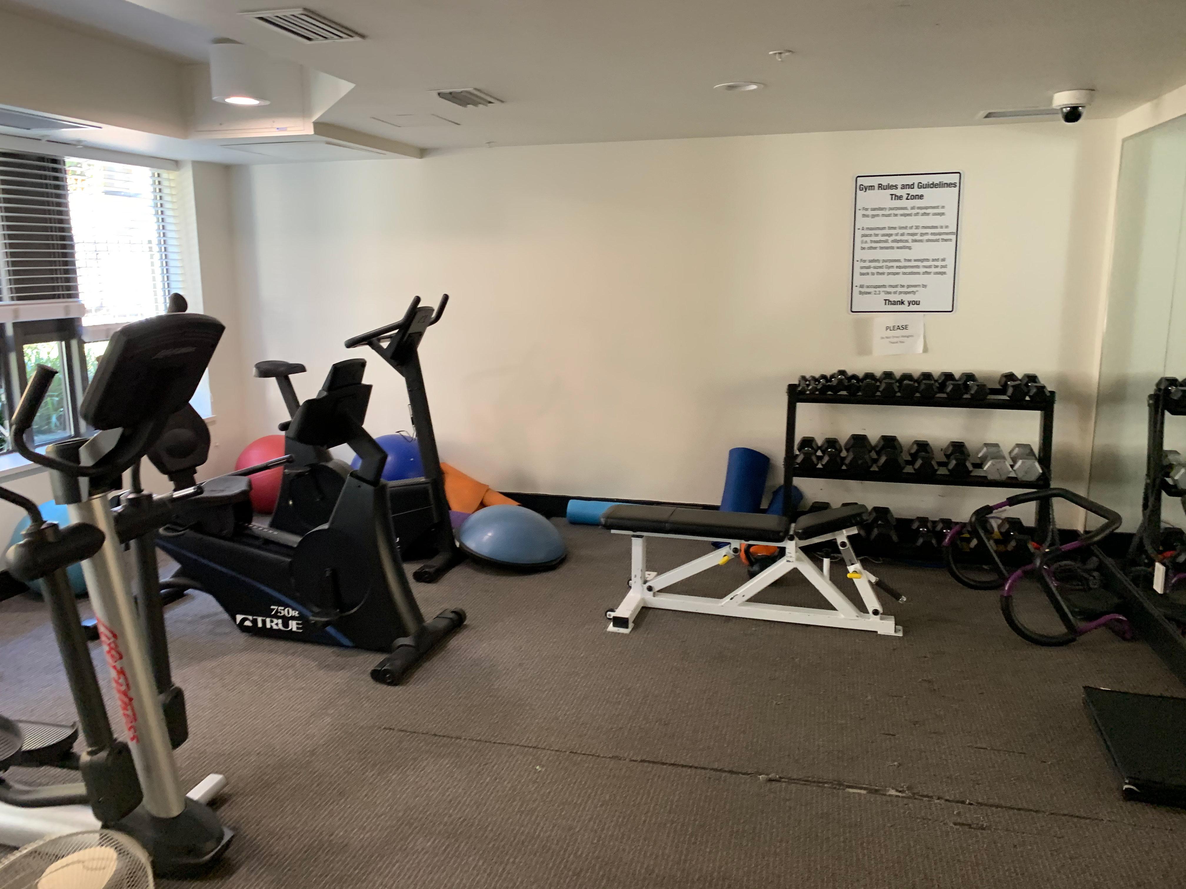 The Zone 1068 Broadway Gym!
