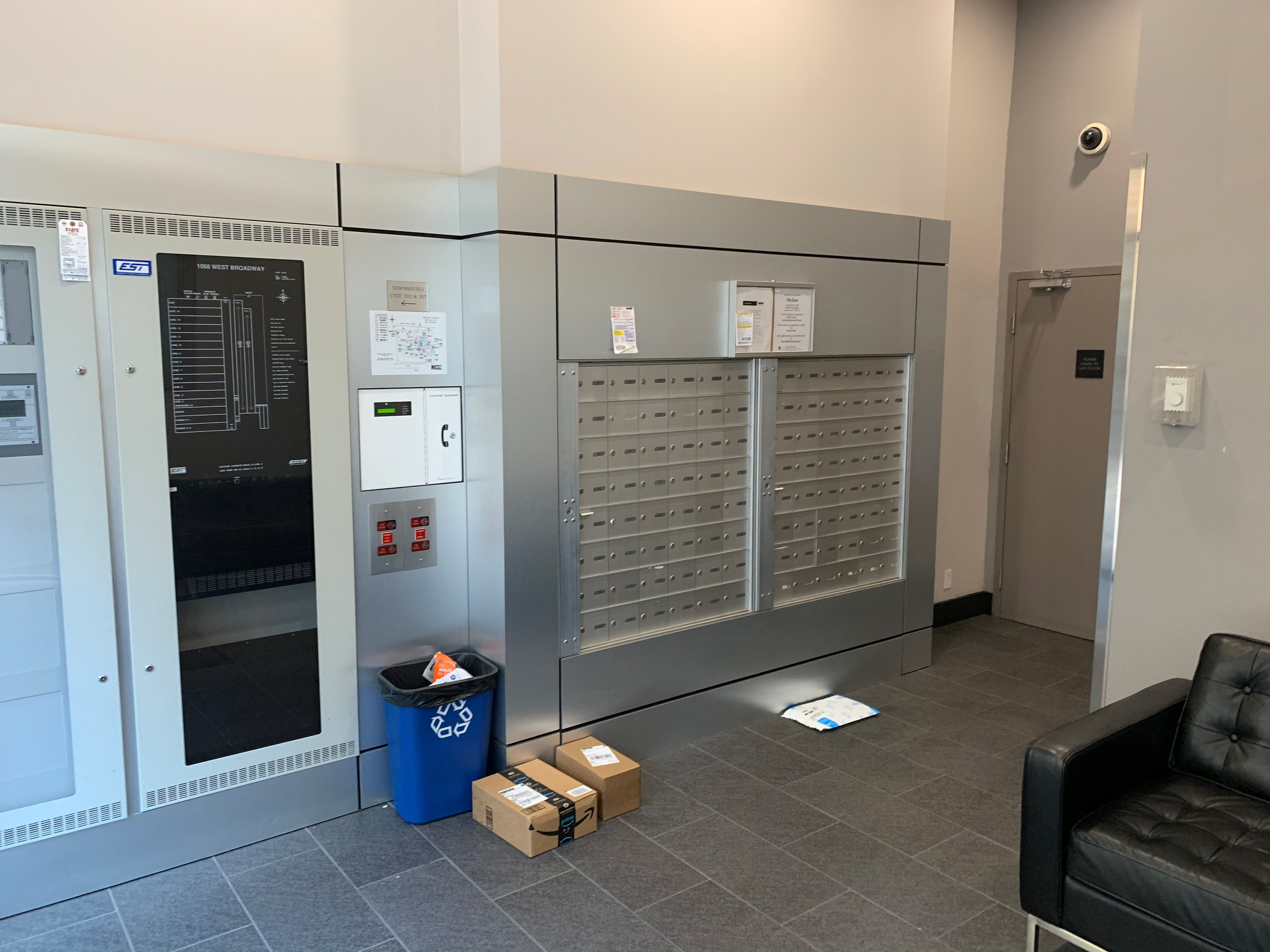 The Zone 1068 Broadway Mail Room!