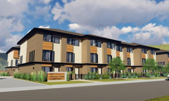 Urban Park Townhomes - 500 Fleming Rd - Rendering!
