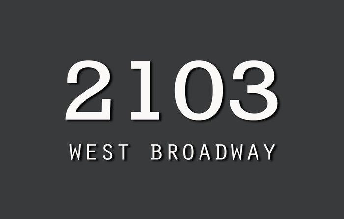 2103 West Broadway 2103 Broadway V6K 4L3