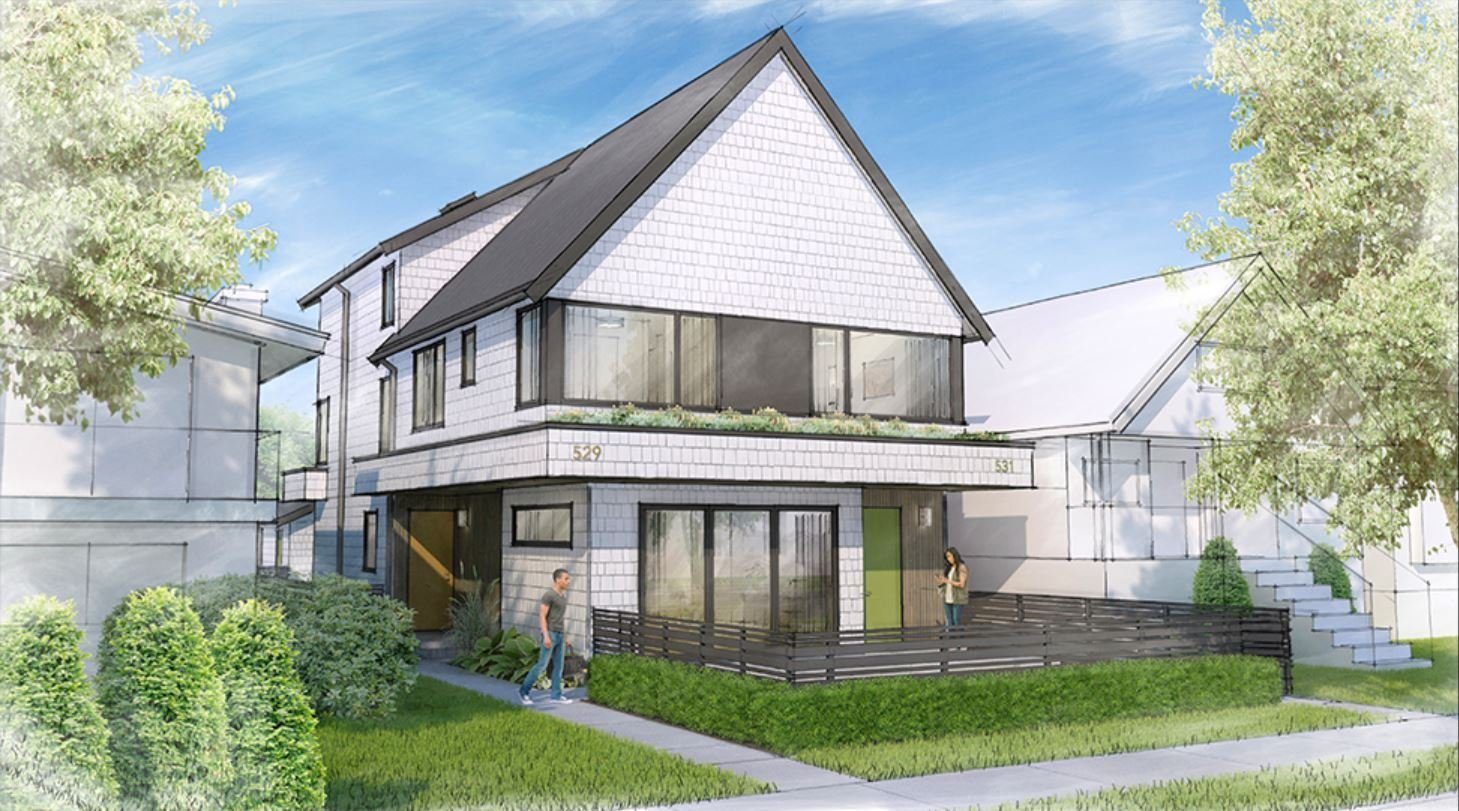 2 on 17 - 531 East 17th Ave - Rendering!