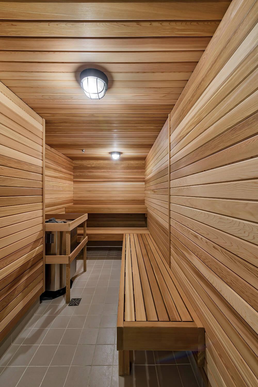 Steam & Sauna Room!