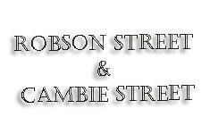 Robson Street & Cambie Street 150 Robson V6B 2A7