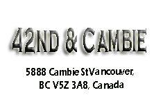 42nd & Cambie 5888 Cambie V5Z 3A8