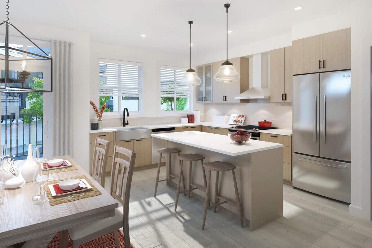 Kitchen Area - 5940 176A St, Surrey, BC N0N 0N0, Canada!