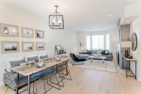 Dining & Living Area - 2843 Turnstyle Crescent, Langford, BC V9B 0T8, Canada!