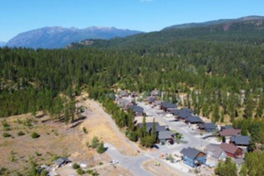 Aerial View - 500 Forest Crowne Dr, Kimberley, BC V1A 0A4, Canada!