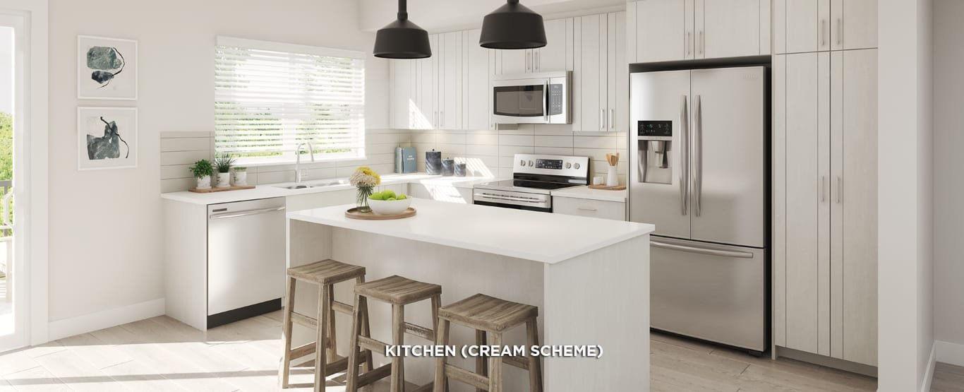 Kitchen - Latimer Heights Parkside Townhomes!
