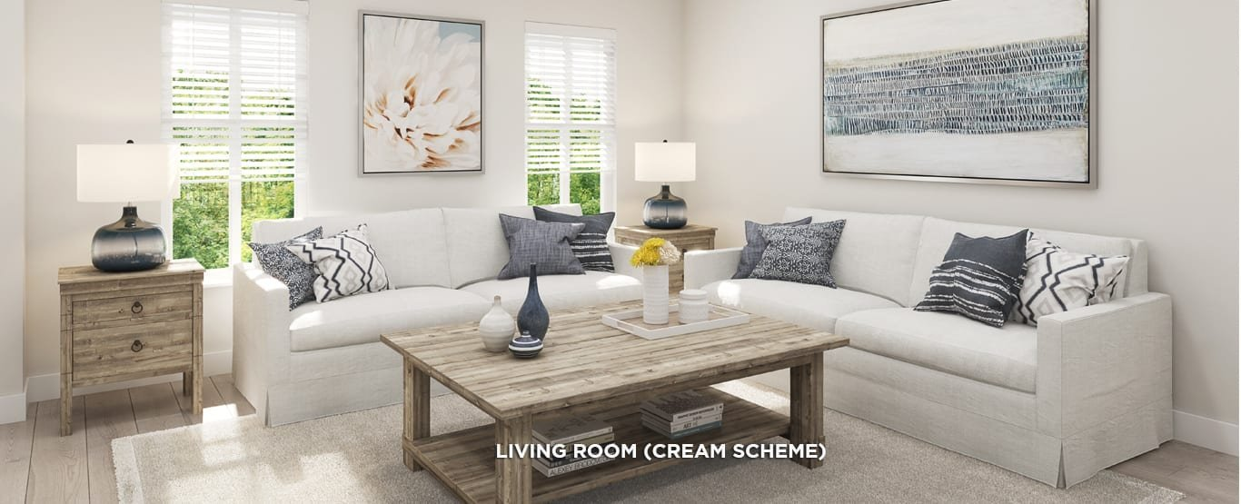 Living Area - Latimer Heights Parkside Townhomes!
