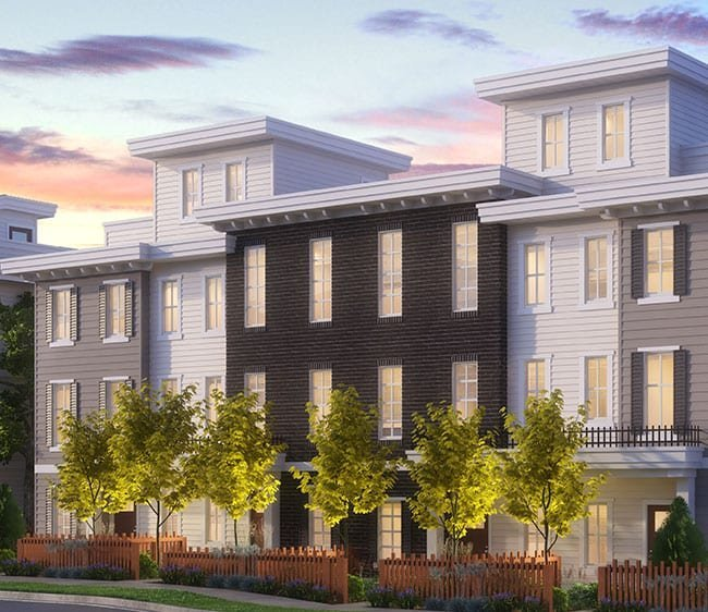 Exterior - Latimer Heights Parkside Townhomes!