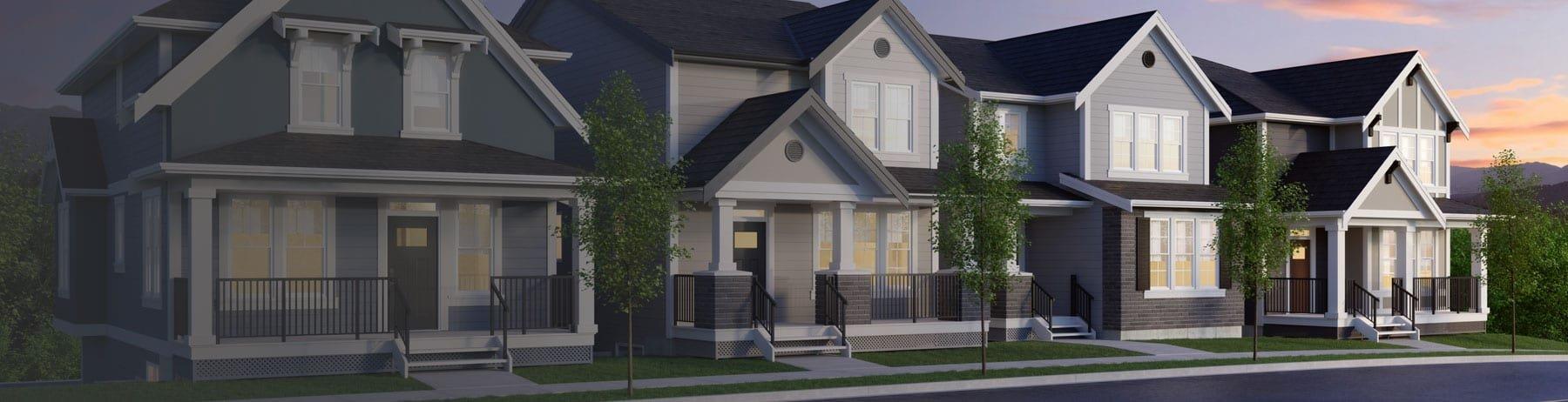 Exterior - Single Family Lane Homes!