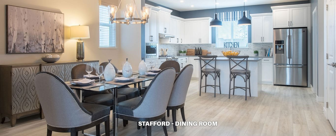 Dining Area - Single Family Lane Homes!