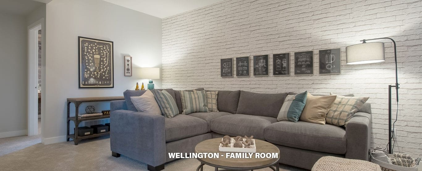 Family Room - Single Family Lane Homes!
