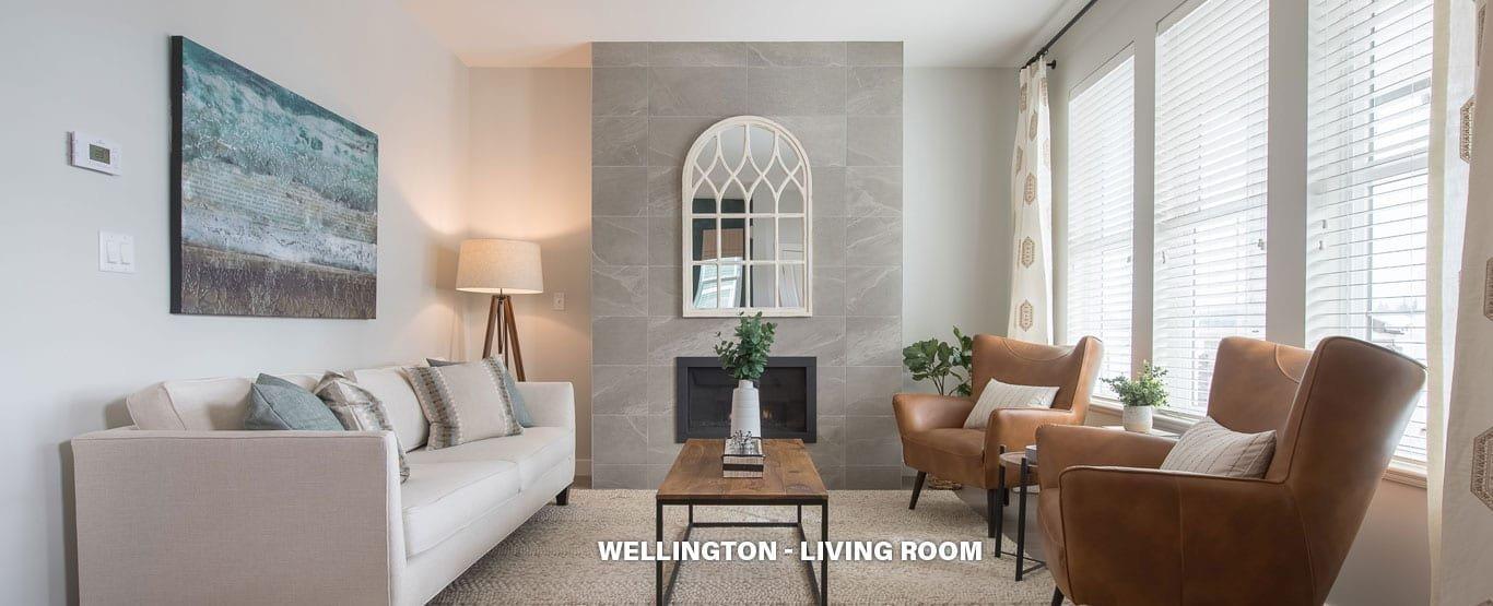 Living Area - Single Family Lane Homes!