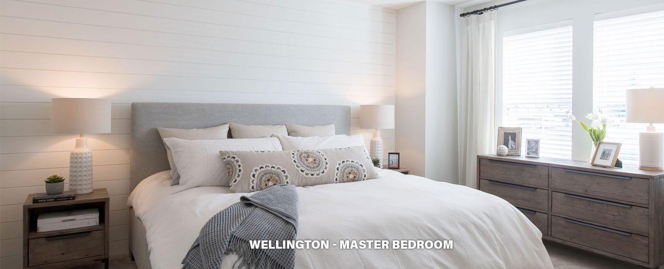Master Bedroom - Single Family Lane Homes!