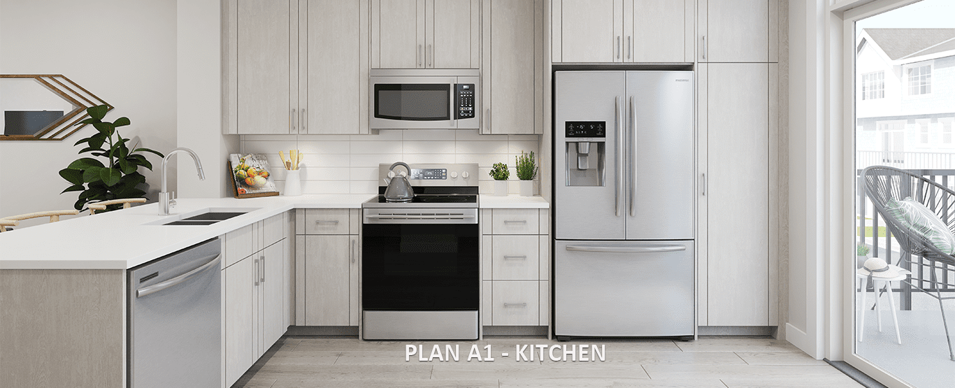 Kitchen - Latimer Heights - Terraced Townhomes!
