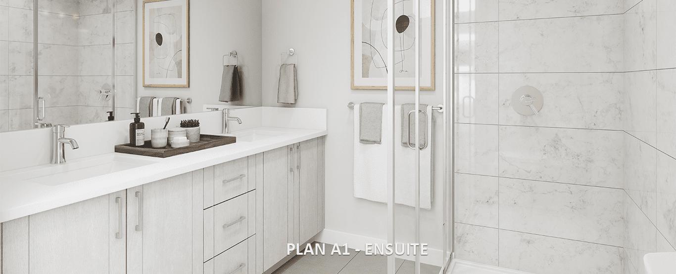 Bathroom - Latimer Heights - Terraced Townhomes!