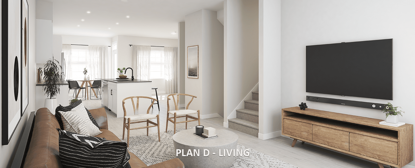 Living Area - Latimer Heights - Terraced Townhomes!
