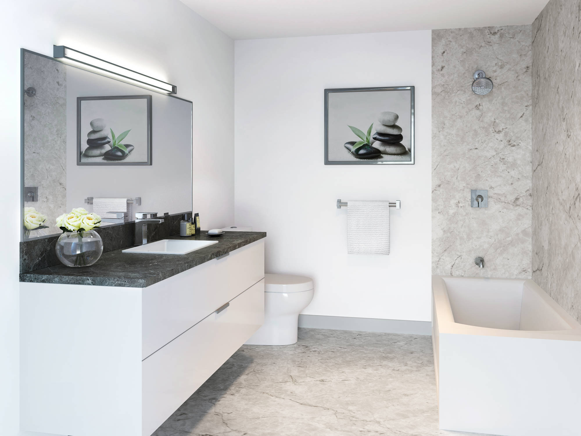 The Ridge - 11917 Burnett St - Bathroom!